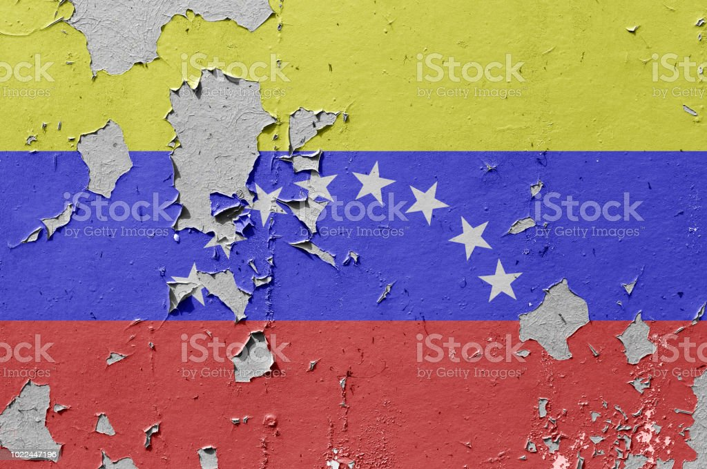 Venezuela flag stock photo