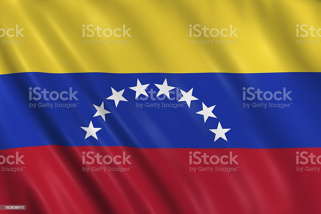 venezuela flag royalty-free stock photo