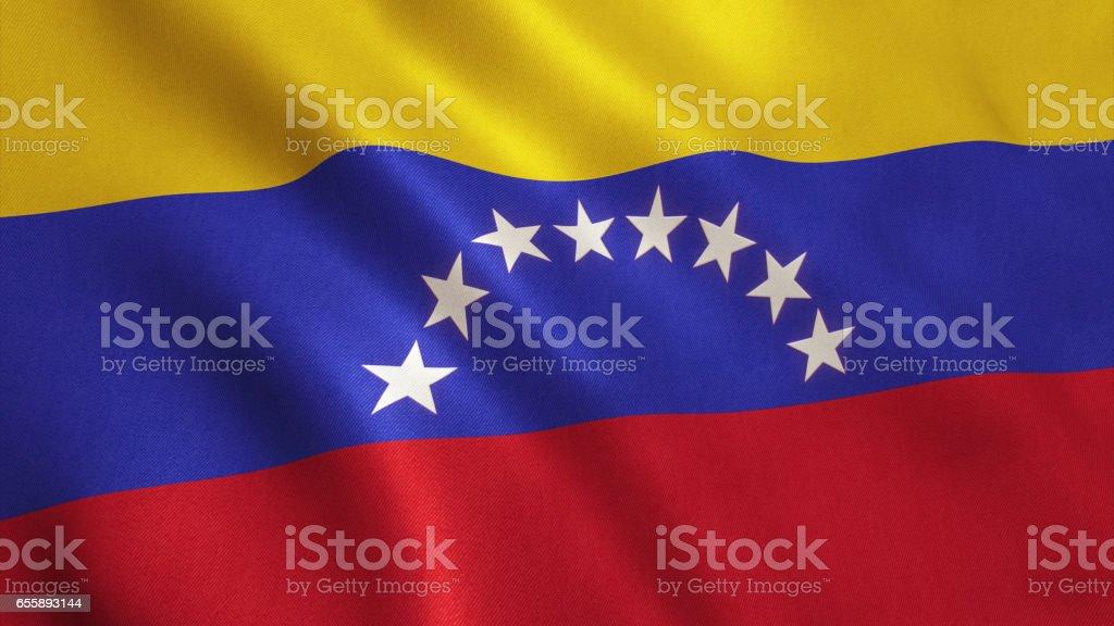 Venezuela Flag - foto de stock