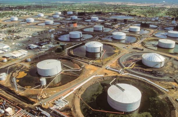 Venezuela Oil stock photo