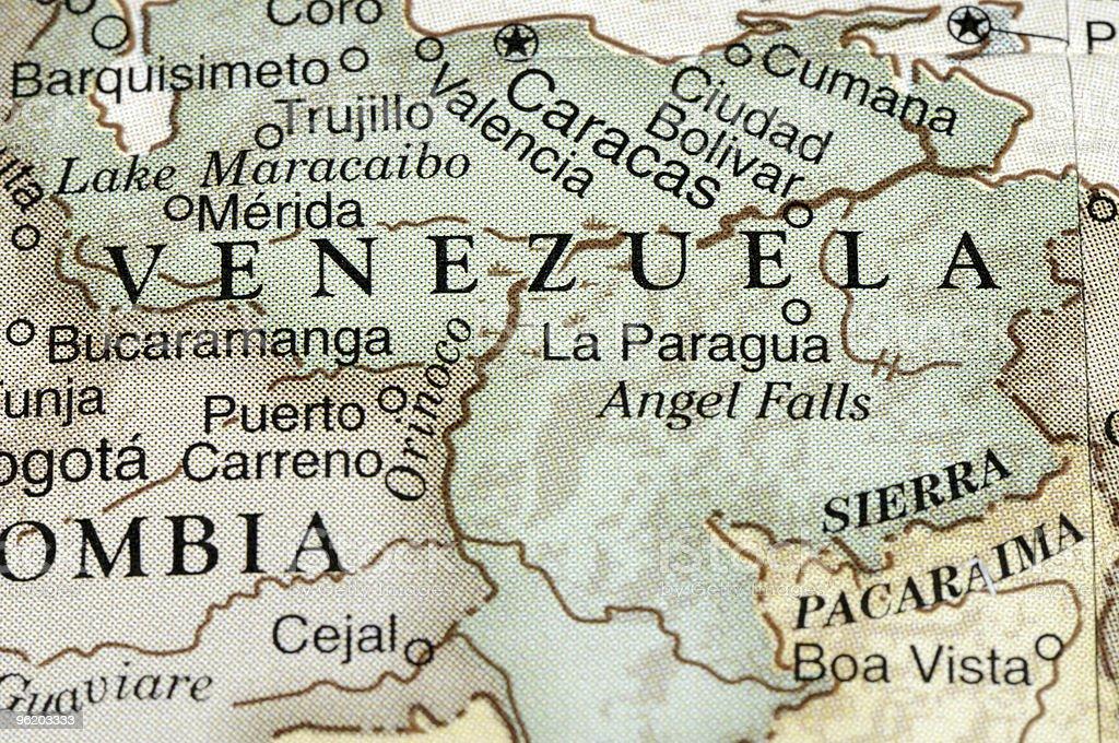 Venezuela royalty-free stock photo