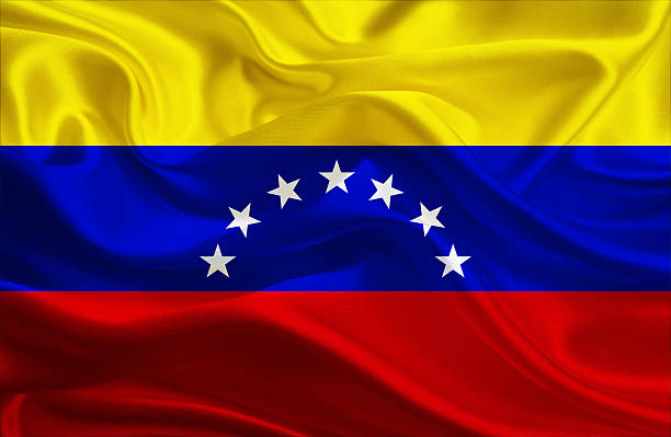venezuelan flag - venezuelan flag stock photos and pictures