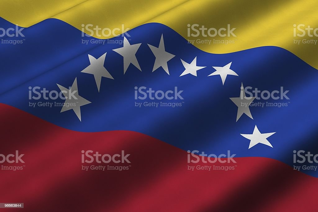 Bandera venezolana - foto de stock