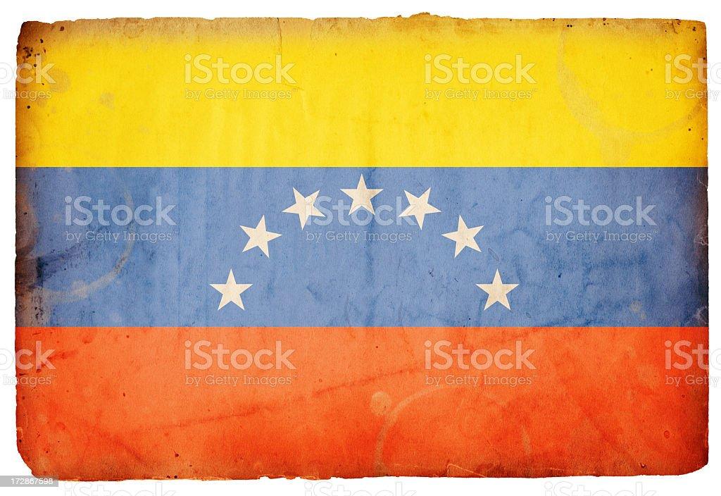 Venezuelan Flag XXXL royalty-free stock photo