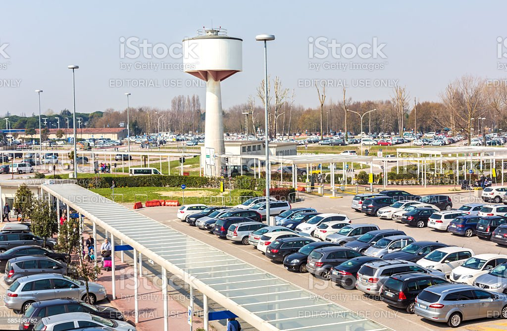 Venice Airport With Parking Place Stock Photo & More Pictures of Air ...