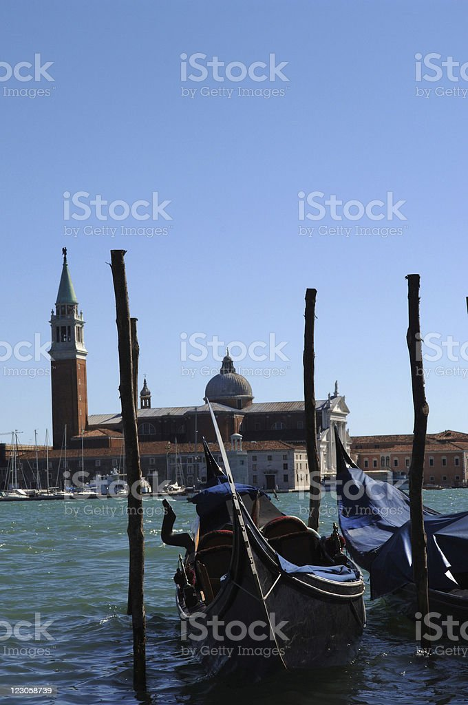 Venice and Lido royalty-free stock photo