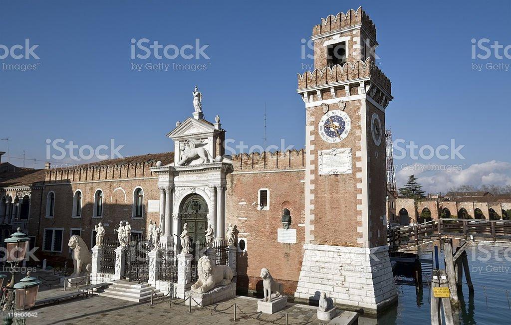 Veneza: Arsenal - foto de acervo