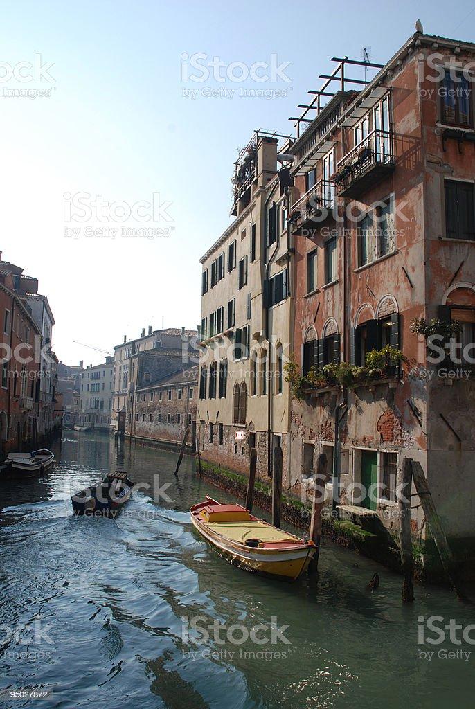 Venice Backstreet royalty-free stock photo