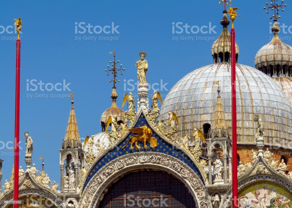 Venice - Basilica di San Marco - Closeup stock photo
