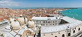 istock Venice Basilica Doges Palace lagoon vista 148958000