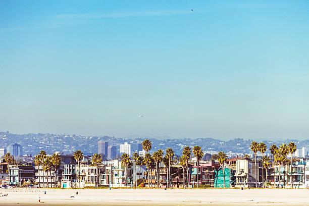 venice beach, kalifornien. - venice beach in kalifornien stock-fotos und bilder