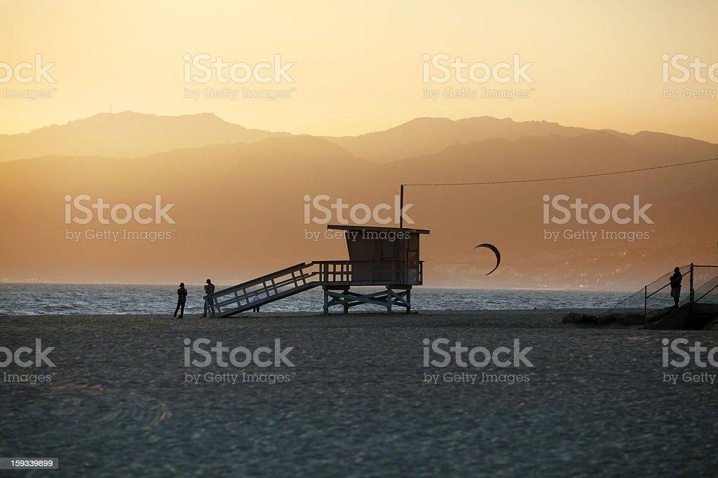 Venice Beach in California royalty-free stock photo