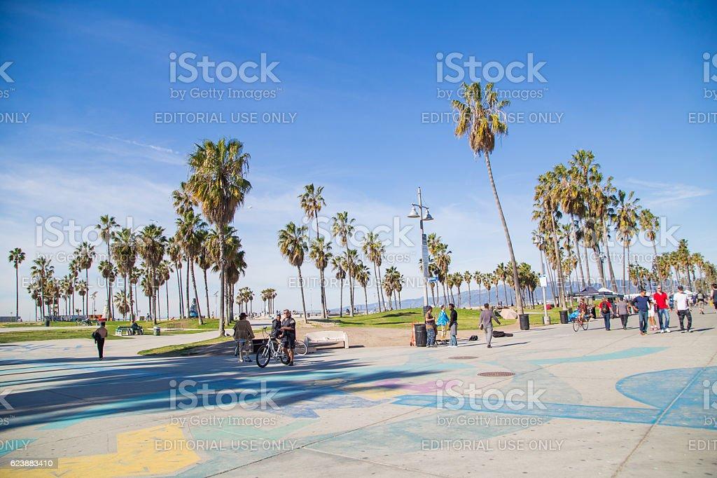People Ping On Santa Monica Farmer S Market California Usa Royalty Stock Photo