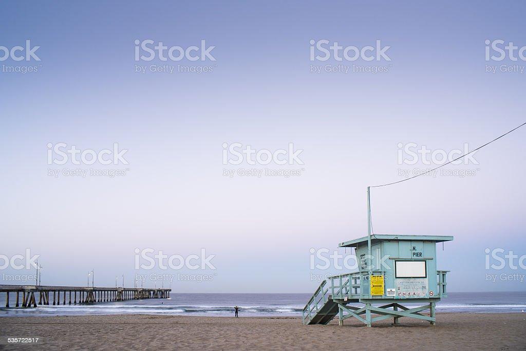 Wenecja Plaża Budka ratownika 3 – zdjęcie