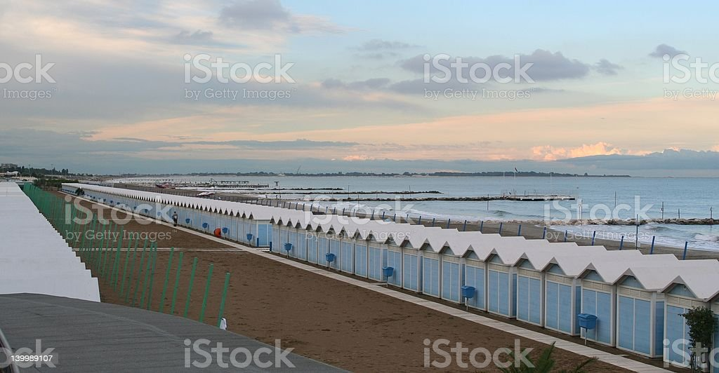 Venice beach view royalty-free stock photo