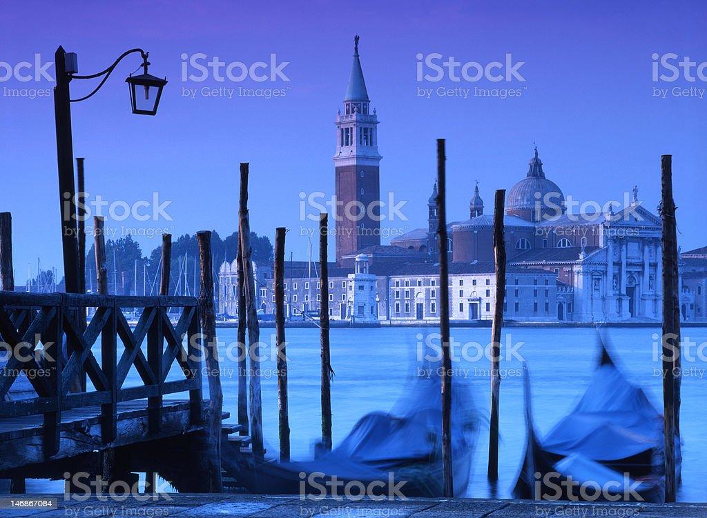 Venice Blue royalty-free stock photo