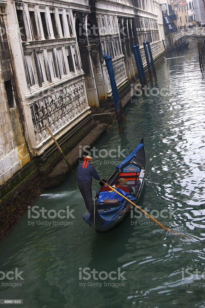 venice boat royalty-free stock photo