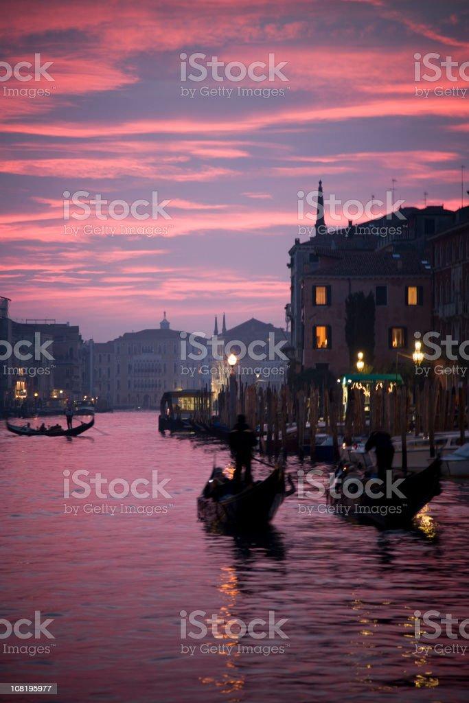 Venice by night.... royalty-free stock photo