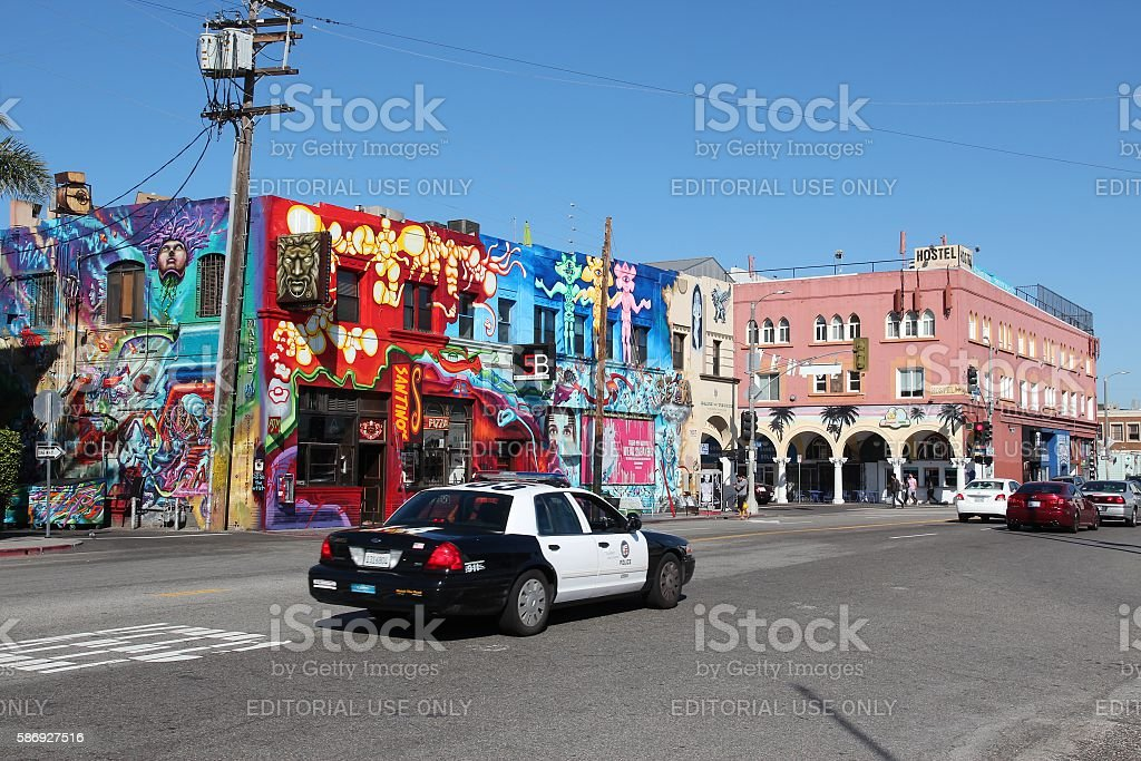 Venice, California stock photo