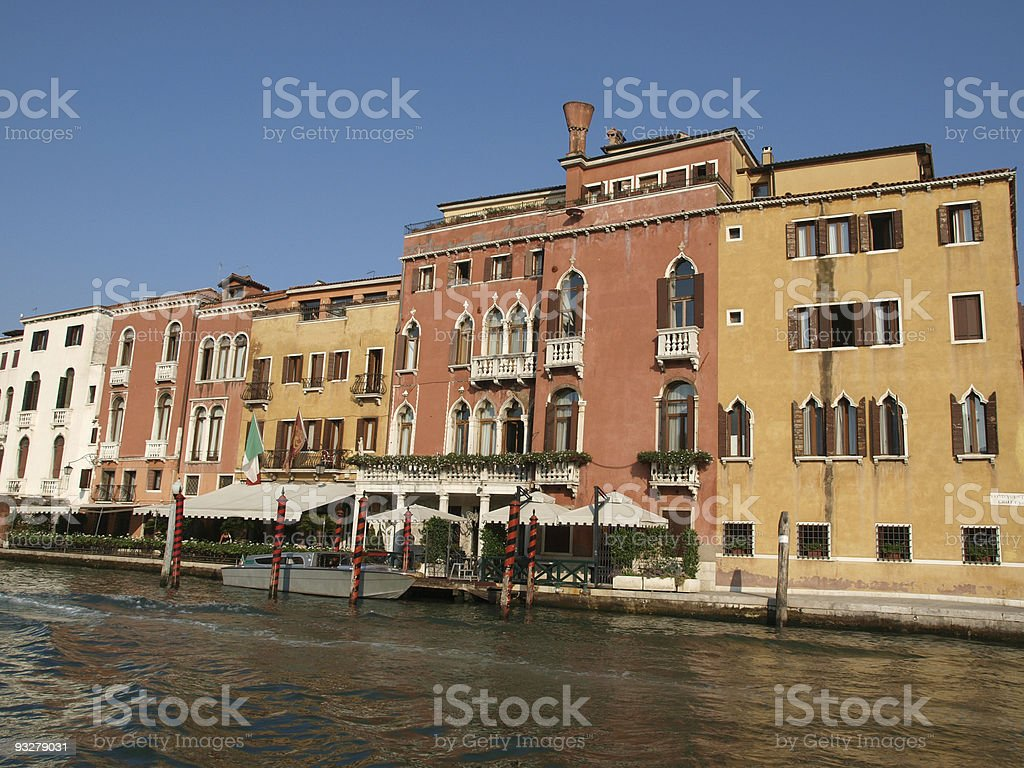 Venice - Canal Grande royalty-free stock photo