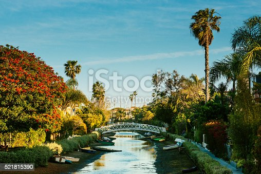 istock Venice Canal Historic District Los Angeles 521815390