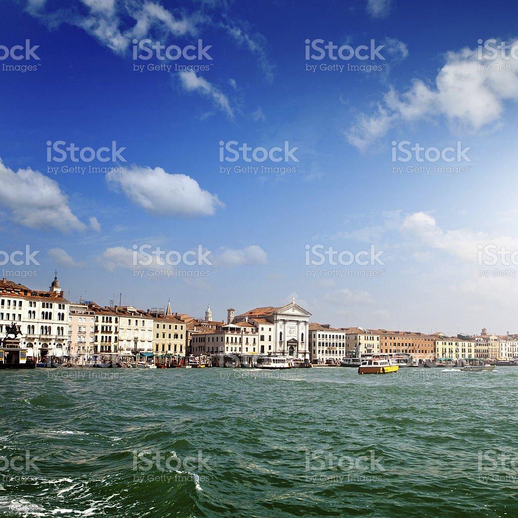 Venice canal, Italy royalty-free stock photo