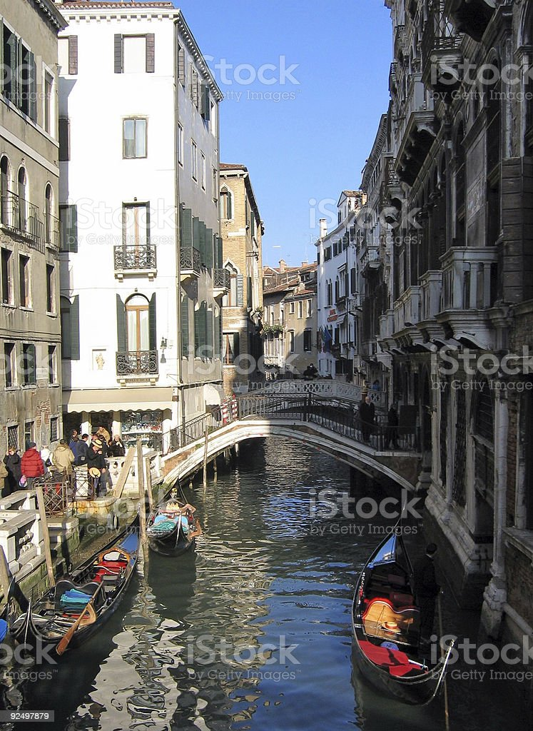 venice canal royalty-free stock photo