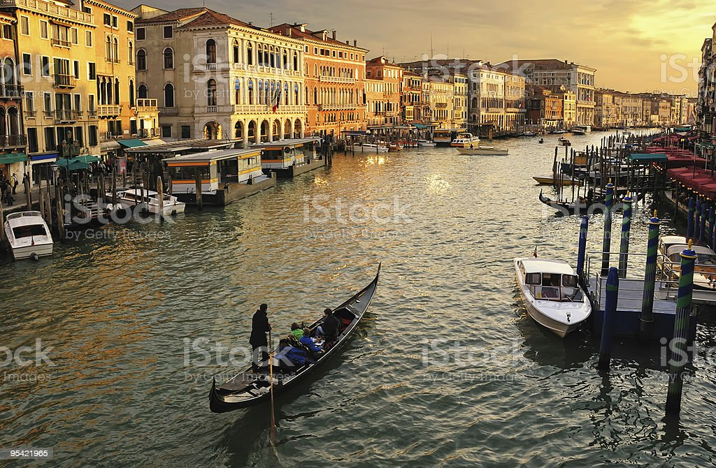 Venice, Canale Grande royalty-free stock photo