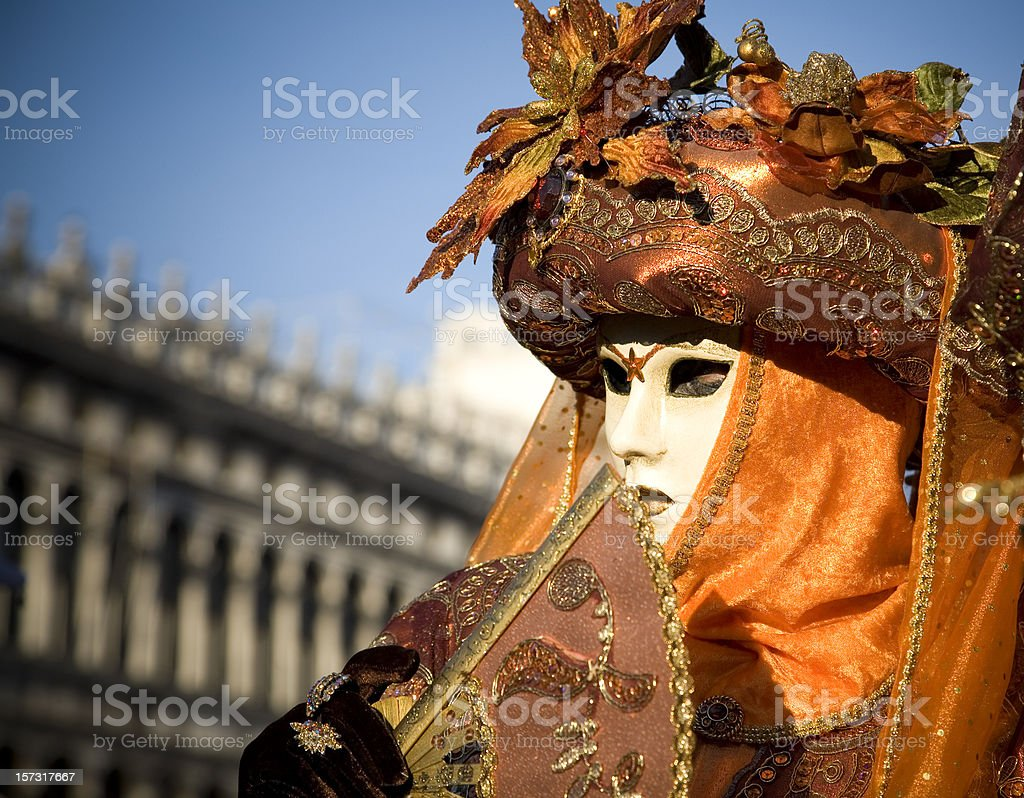 Venice Carnival 2008 royalty-free stock photo