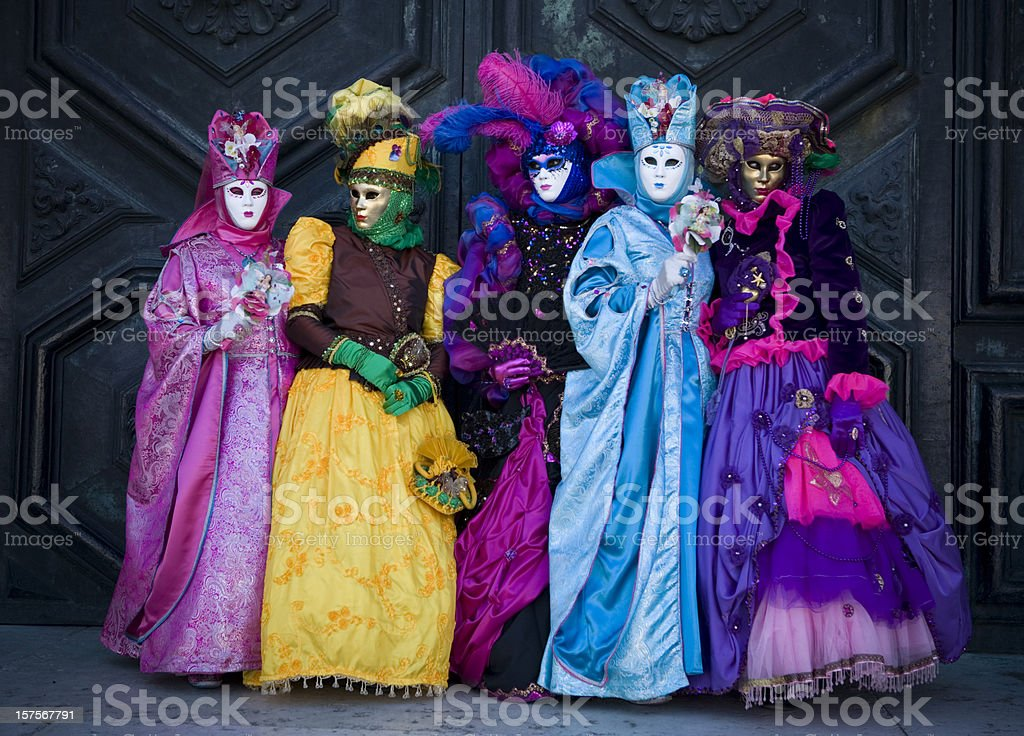 Venice Carnival 2010 royalty-free stock photo