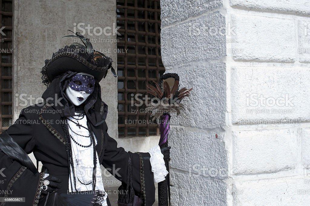 Venice Carnival 2011 royalty-free stock photo