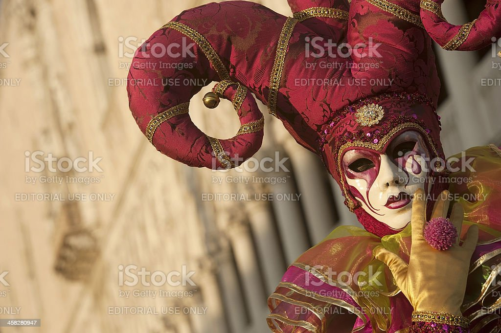 Venice Carnival 2013 royalty-free stock photo