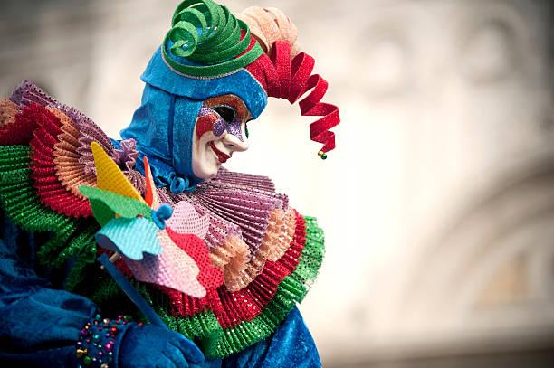 Carnaval de venecia 2014 - foto de stock