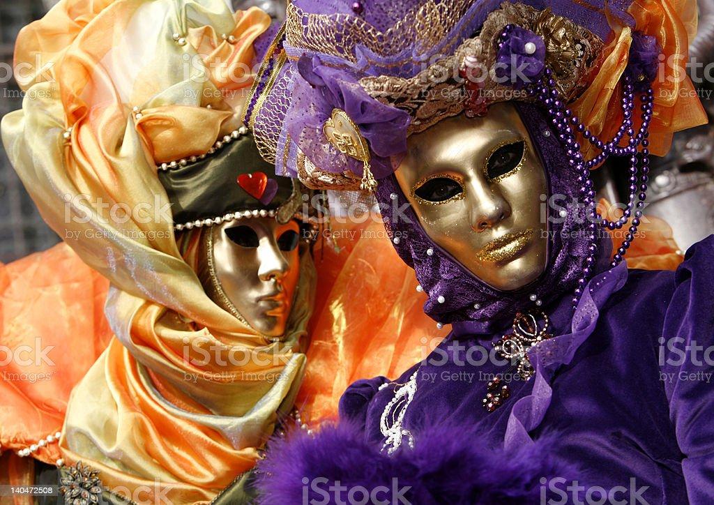 Venice Carnival Costume royalty-free stock photo