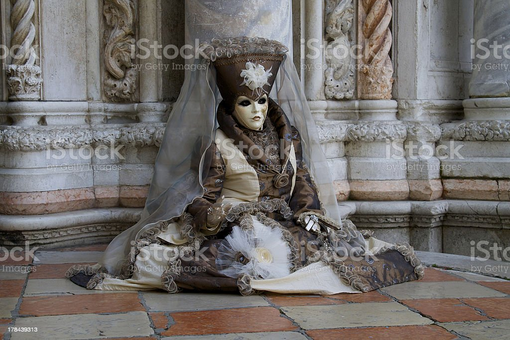 Venice carnival - Italy royalty-free stock photo