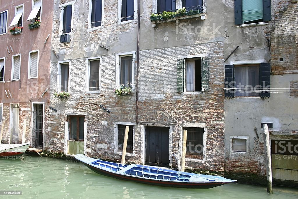 Venice channel view royalty-free stock photo
