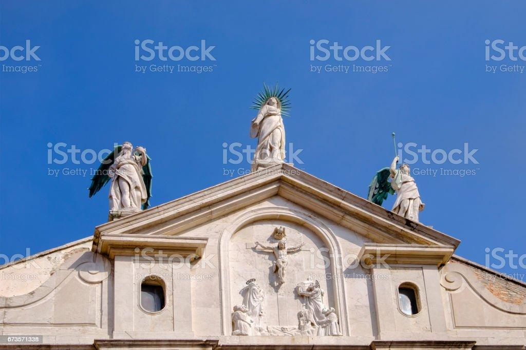 Venice, Church of San Fantin - Italy royalty-free stock photo