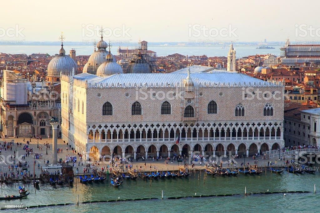 Venice cityscape stock photo