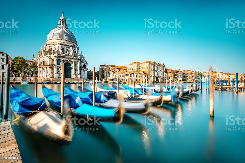 Venice cityscape viw stock photo