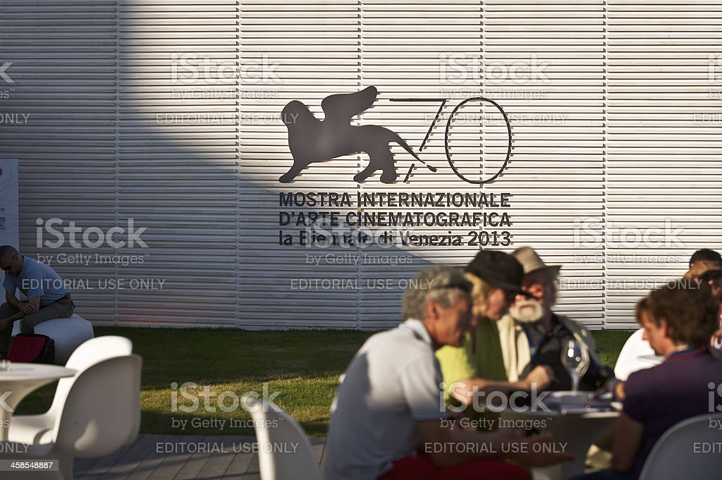 Venice Film Festival stock photo
