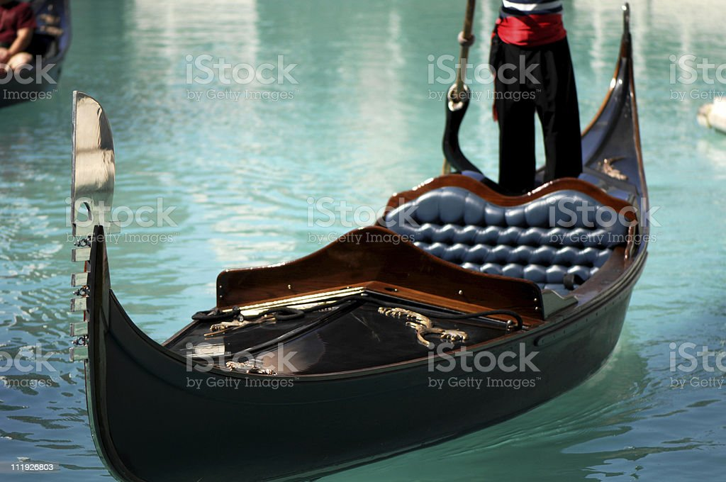 Venice Gondola Las Vegas royalty-free stock photo