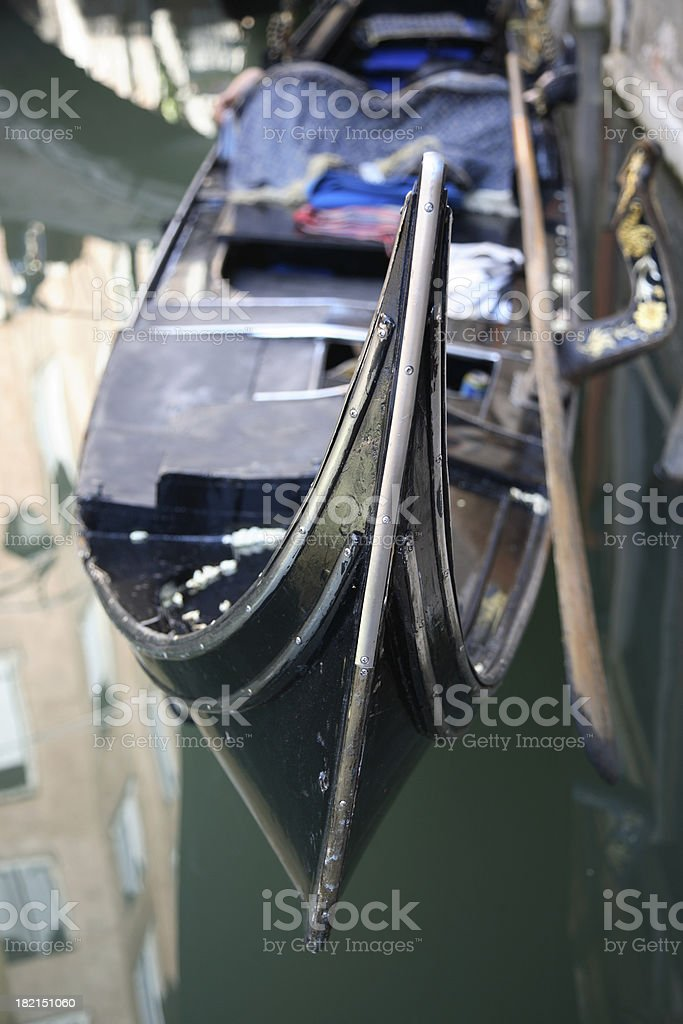 Venice: Gondola royalty-free stock photo