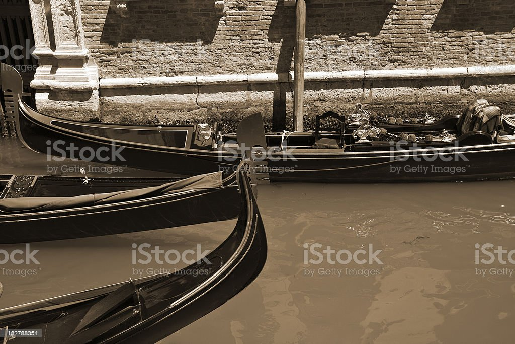 Venice gondola royalty-free stock photo