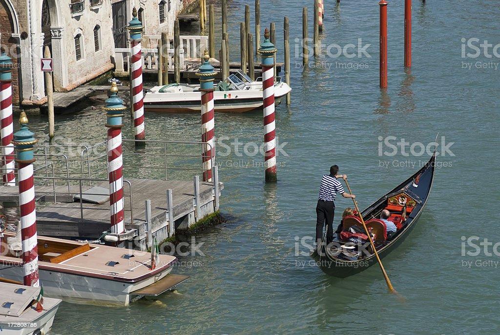 Venice Gondola Tour royalty-free stock photo