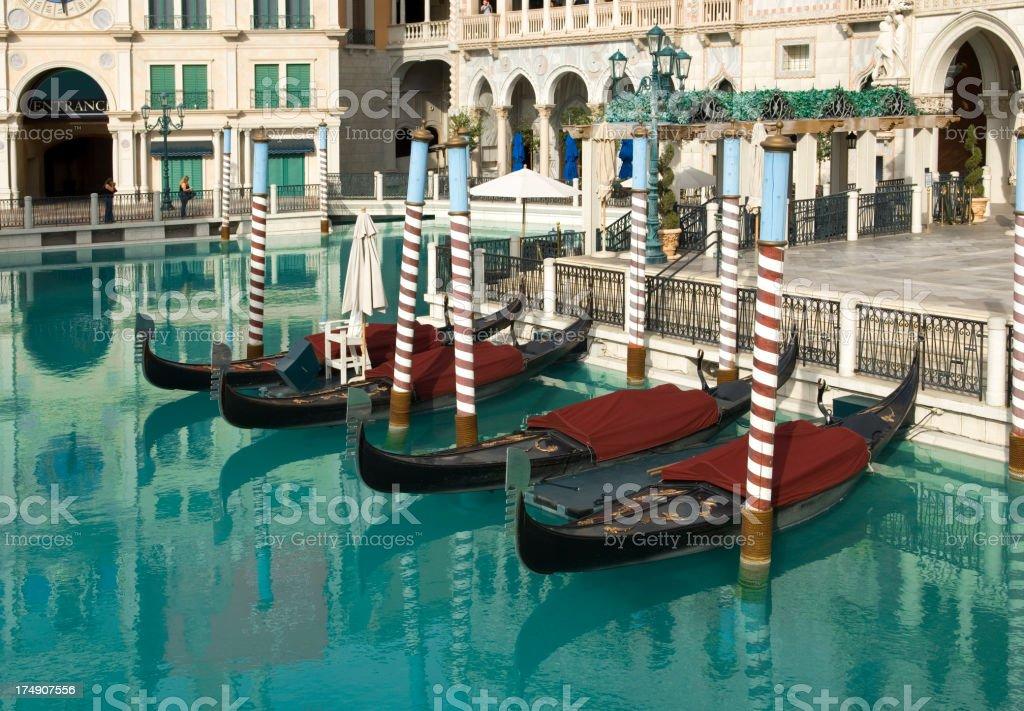 Venice Gondolas royalty-free stock photo