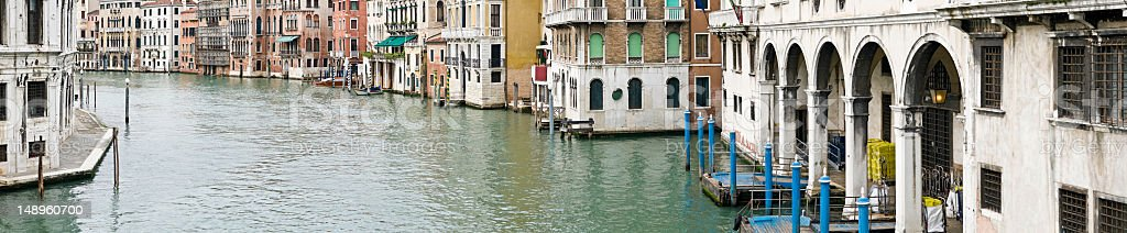 Venice Grand Canal Palazzo royalty-free stock photo