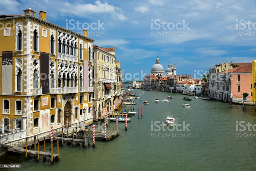 Venice: Grand Canal stock photo