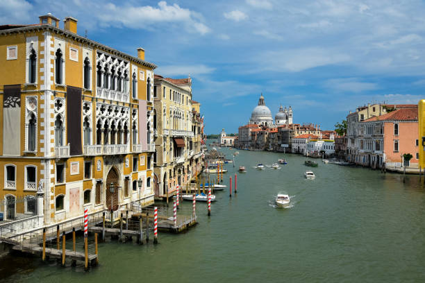 Venice: Grand Canal stock photo