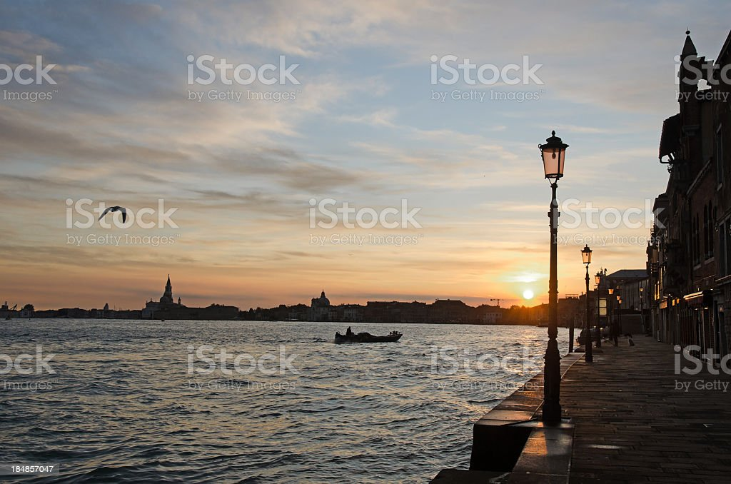 Venice Guidecca at Daylight stock photo