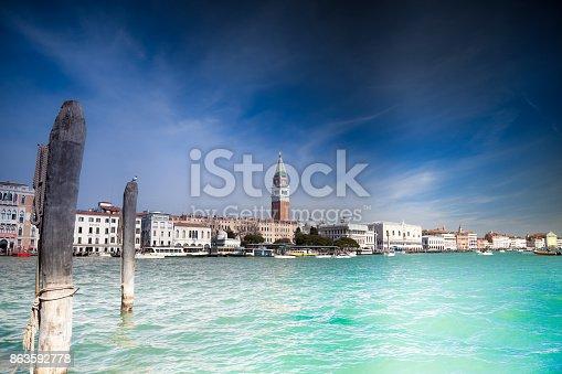 San Marco square froM La Salute Island.